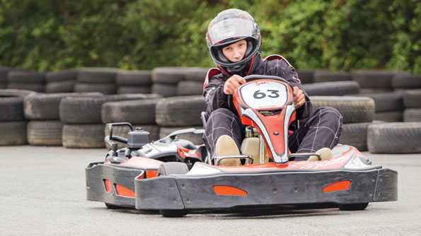 Karting at Adrenalin Quarry