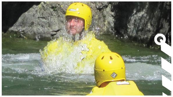 Coasteering in Cornwall